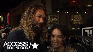 'Justice League': Jason Momoa On Why He Wanted To Play Aquaman  | Access Hollywood