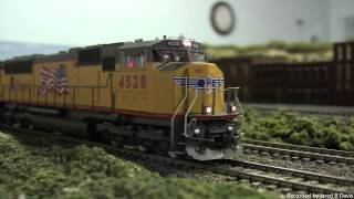 HO Model Trains With Sound Decoders