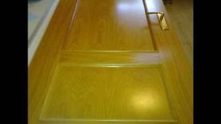 Puertas decoradas con vinilo adhesivo