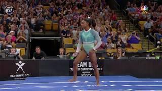Simone Biles On Vault At U.S. Gymnastics Championships   Summer Champions Series
