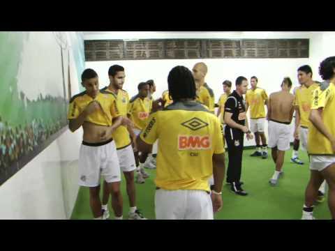 BASTIDORES - Santos 2 x 0 Botafogo