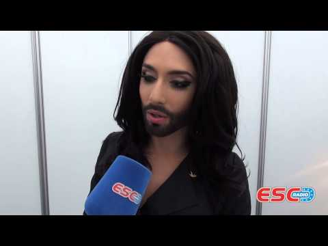 Conchita Wurst (Austria 2014) Interview ESC Radio 2014