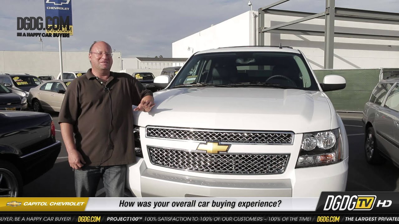 2013 Chevy Tahoe Customer Review Capitol Chevrolet San