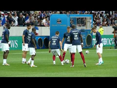 France - Paraguay 2014 : Antoine Griezmann, Clement Grenier, Moussa Sissoko
