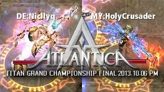iAO Titan PM Final 2013-10-06: DE:Niqllyc vs. MY:HolyCrusader