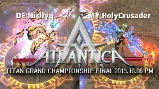 iAO Titan PM Final 2013-10-06: DE:Niqllyc vs. MY:HolyCrusader