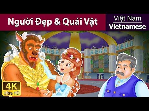Người đẹp và quái vật - Chuyện thiếu nhi - Chuyện cổ tích - 4K UHD - Vietnamese Fairy Tales