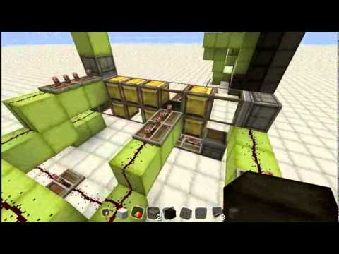 Minecraft - Analog Piston Clock
