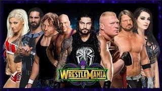 Wrestlemania 34 Highlights Dream Match Card Prediction