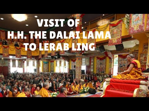 The Visit of His Holiness the Dalai Lama to Lerab Ling, August 2008