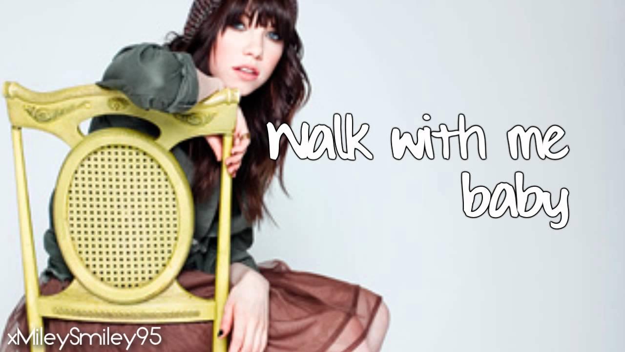 Carly Rae Jepsen - Talk To Me (with lyrics)
