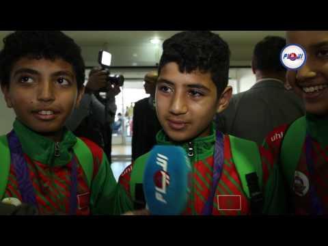 هذا ما قاله لاعبوا المنتخب المدرسي بعد إنجازهم التاريخي في الدوحة
