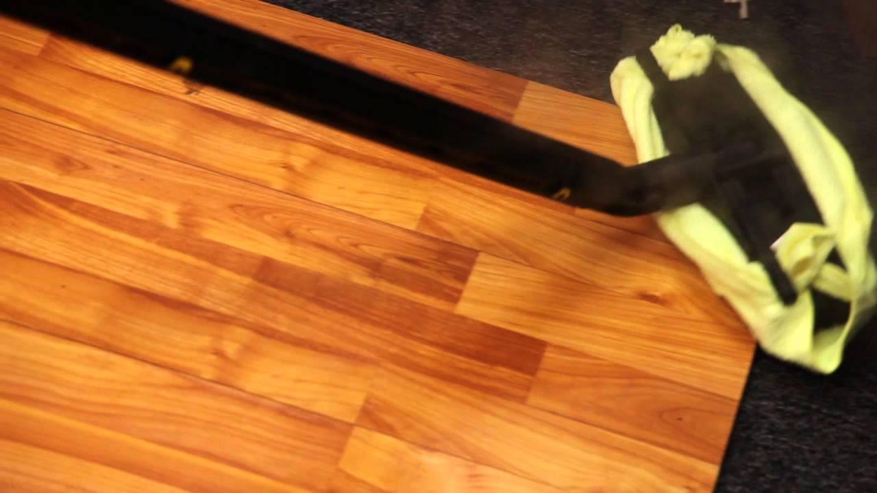 How hardwood floor steam cleaning machine works youtube for Wood floor cleaning machine