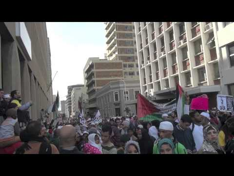 Free Palestine March in Cape Town