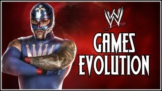 WWE 2K14 Countdown WWE Games Evolution Rey Mysterio
