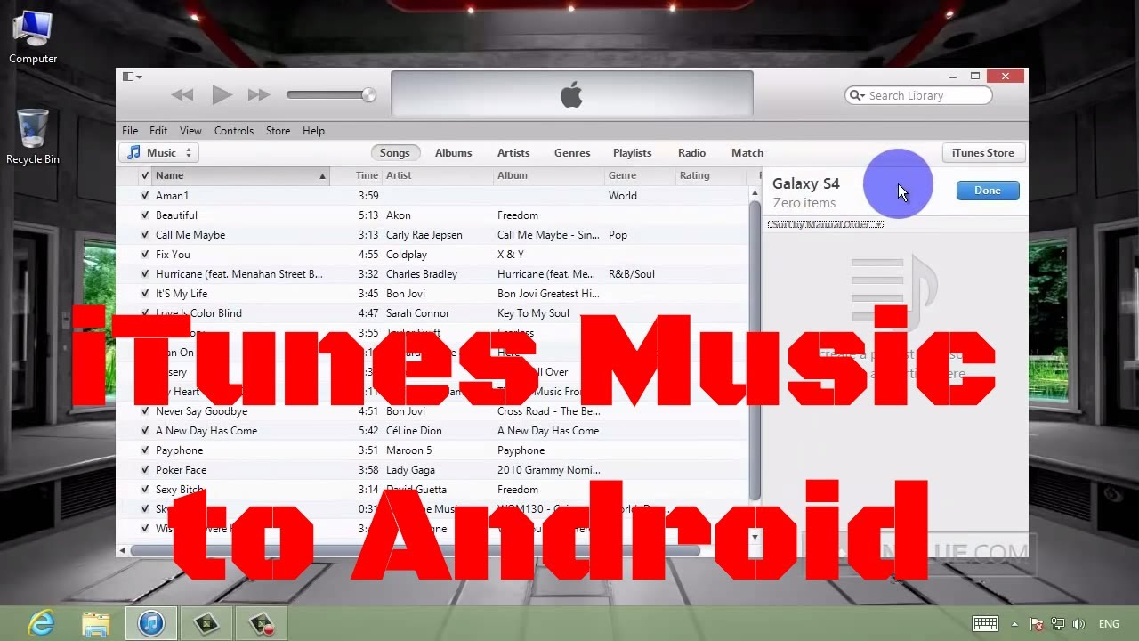 how to download music from youtube to samsung galaxy s4