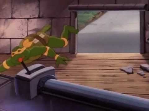 Random 80's Teenage Mutant Ninja Turtles Season 3 Clips