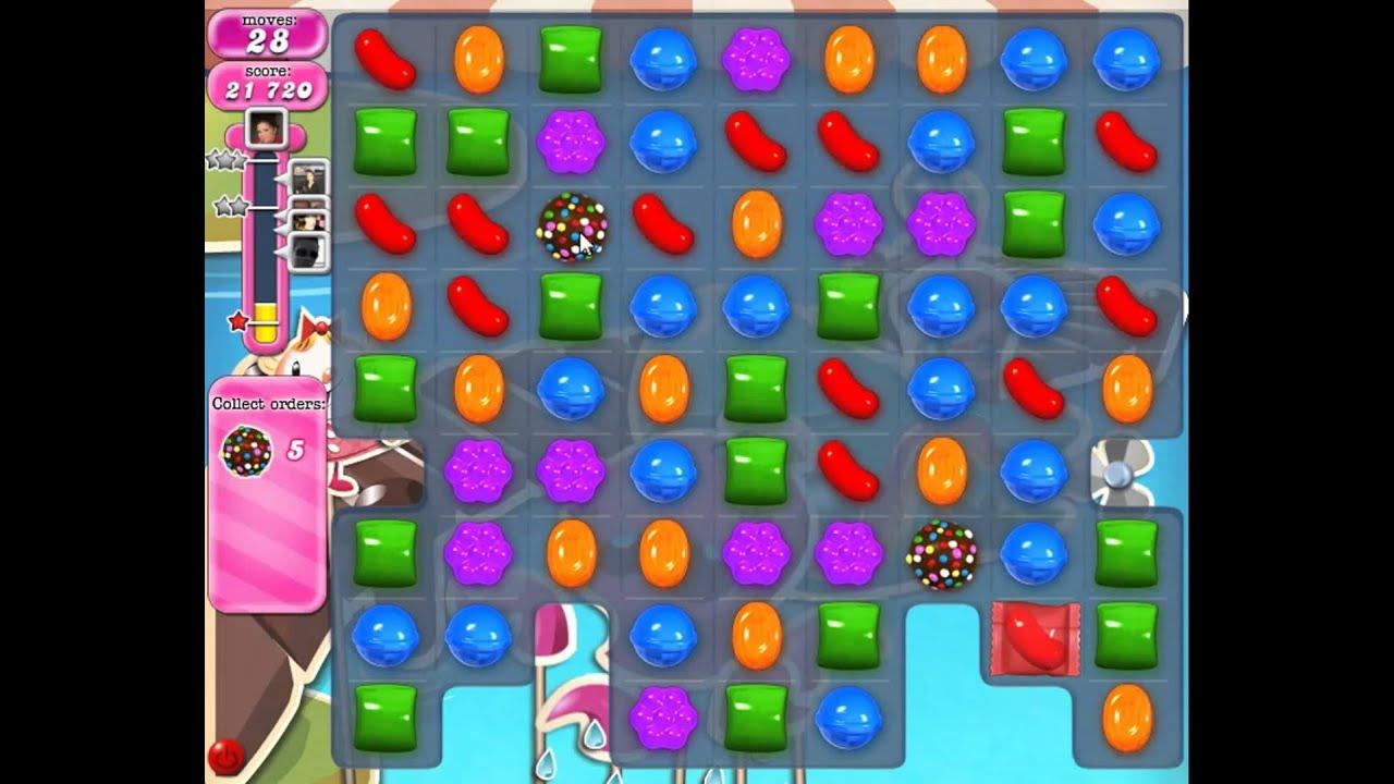 Candy Crush Saga Level 135 NEW - YouTube