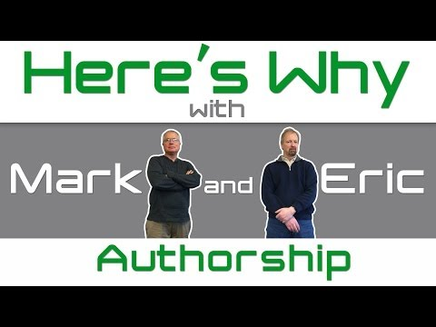 Here's Why Episode 1 - Authorship