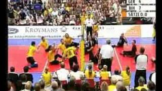 Sitting Volleyball For Disabled