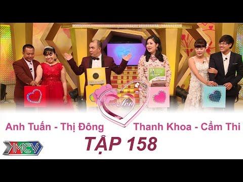 Anh Tuấn - Thị Đông | Thanh Khoa - Cẩm Thi | VỢ CHỒNG SON - Tập 158 | 21/08/2016