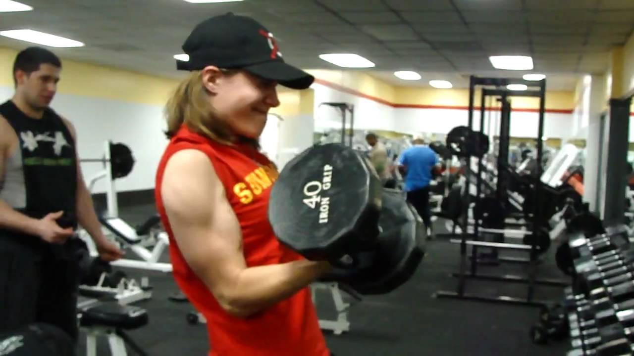 bicep curls single arm curling 40 lbs youtube