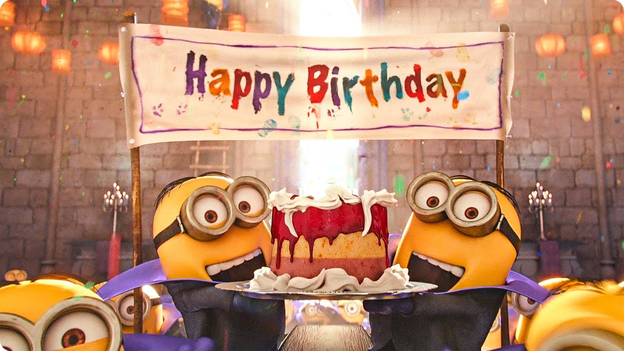 Миньон фото с днем рождения