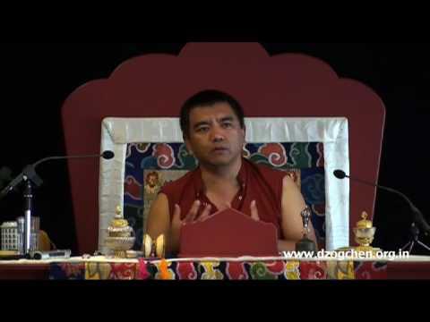 H.E. Dzogchen Rinpoche - Spontaneous Peace