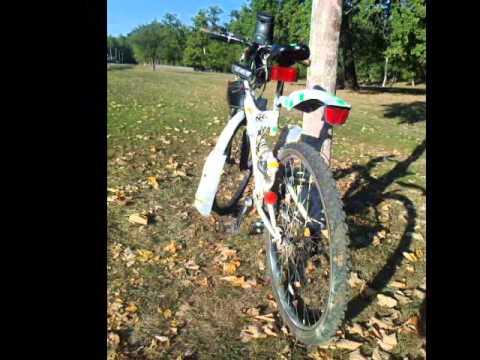 Tuning BMW DHS  bicicleta