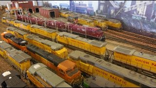 HO Scale Build Series: The Enterprise Locomotive Facility