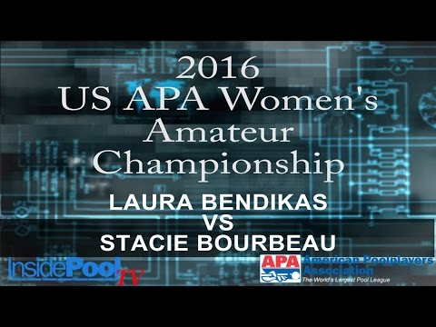2016 U S  APA Womens Amateur Championship Laura Bendikas vs Stacie Bourbeau