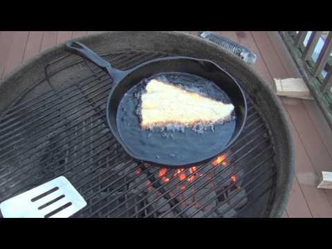 Fried Haddock on the grill