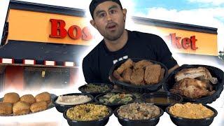 Boston Market Family Meal for 6 VS Man