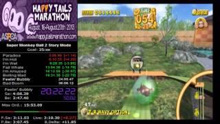 Super Monkey Ball 2 Story Mode RTA in 35:59