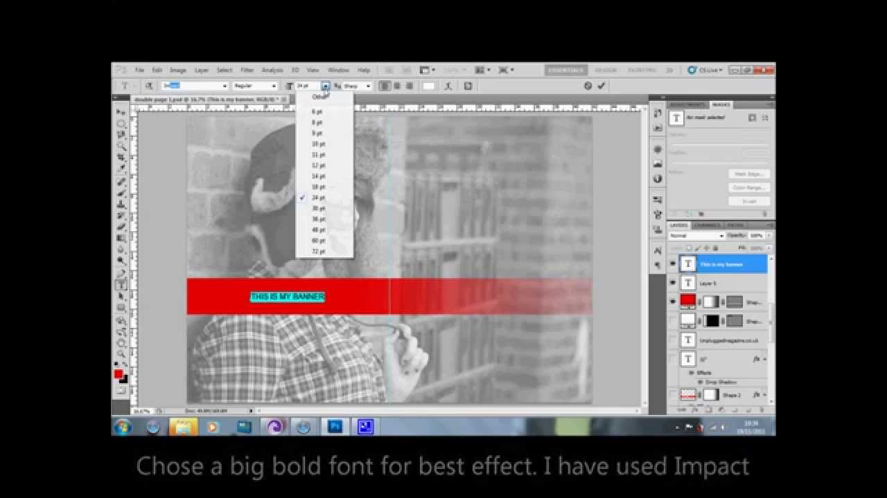 how to make text see through in powerpoint