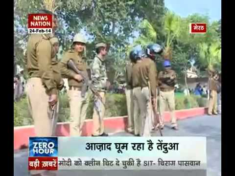 Zero Hour: Leopard on the loose in Meerut, leaves 6 injured - Part 1