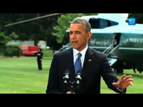 Obama On Iraq Insurgency - Full News Conference