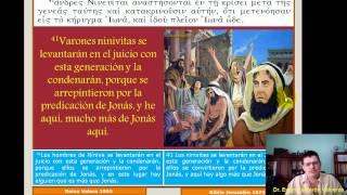 Estudio Bíblico 025 Mateo 12,38-50: Signo De Jonás