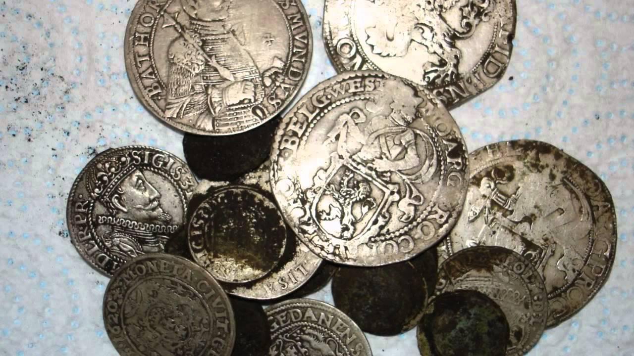 Большая сборка фотографии кладов монет :: находки кладов.