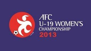 Japan Vs Myanmar: AFC U-19 Women's Championship 2013
