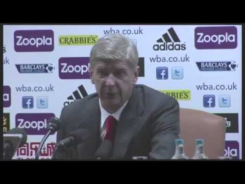 Arsène Wenger: Arsenal's 1-1 draw against West Bromwich was fair result - video