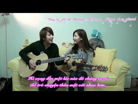 [Vietsub] YongSeo Couple - Banmal Song (SNSD Seo Hyun & CNBlue Yong Hwa) @ We Got Married  101227