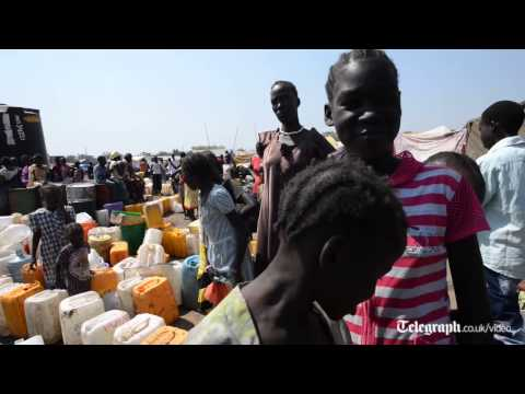 Inside South Sudan's refugee-packed UN base