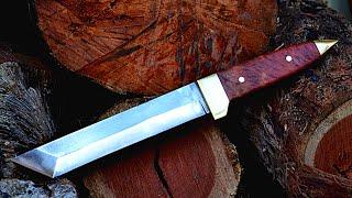 Cómo se hace un cuchillo japonés