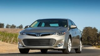 2013 Toyota Avalon V6 0-60 MPH First Drive Review videos