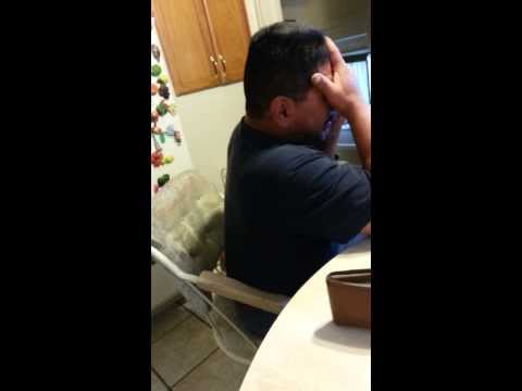Dad finds out Son is getting out of Prison