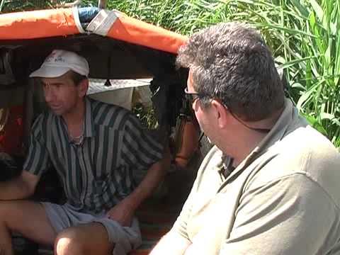 Hajós horgászat a Tisza tavon -Tisza tó