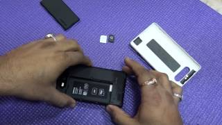 Lumia 820 How To Insert Sim Card And SD Card