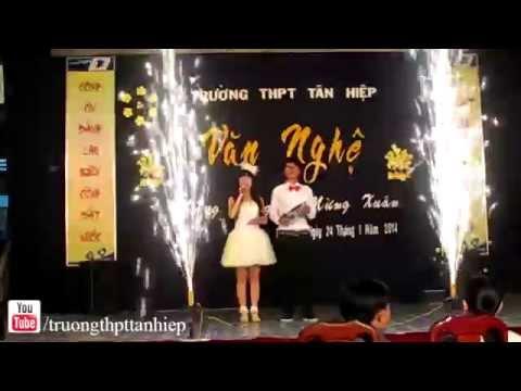 Khai mạc Văn nghệ mừng Đảng mừng Xuân 2014 + Liên khúc xuân 10A1