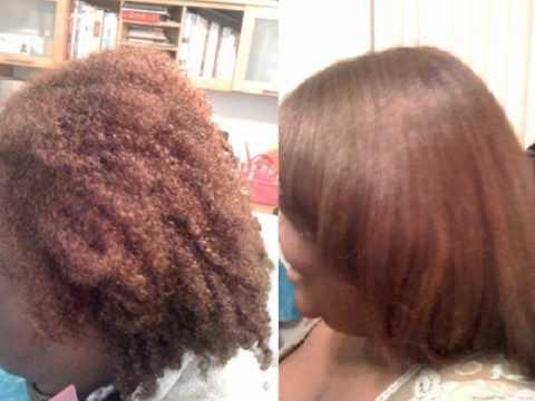 Straightener Treatment For Natural Hair